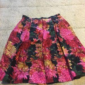 Beautiful Talbots silk skirt